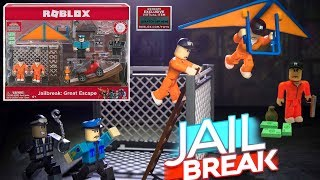 Roblox jailbreak grande escape Toy + item de código [UNBOXING]