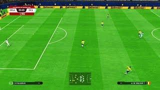 PES | BRAZIL vs BELGIUM | FIFA World Cup 2018 | amazing goals | Gameplay PC
