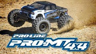 Load Video 1:  Pro-Line PRO-MT 4x4 1:10 4WD Monster Truck