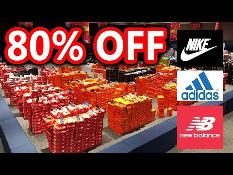 SECRET SHOP - 80% OFF NIKE, ADIDAS, NEW BALANCE SHOES
