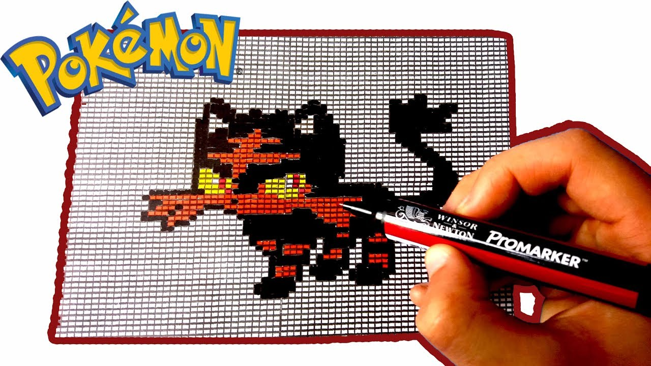 Pixel Art Pokemon Flamiaou Litten