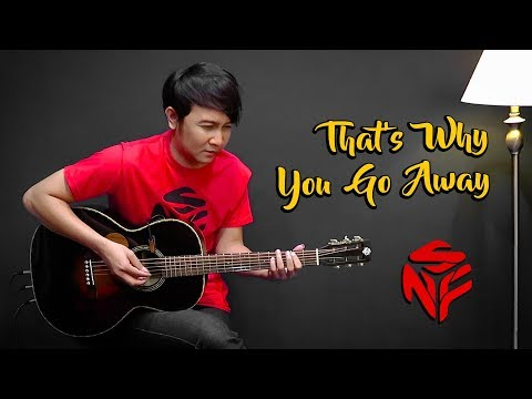 That&39;s Why You Go Away - Nathan Fingerstyle Guitar Cover