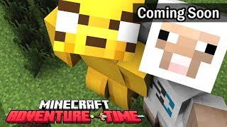 Coming Soon 😜 - Minecraft PE Adventure Time - Trailer | in Hindi | BlackClue Gaming
