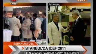IDEF-2011- MURAD BAYAR TRT SABAH HABERLERİ'NDE CANLI YAYIN KONUĞU