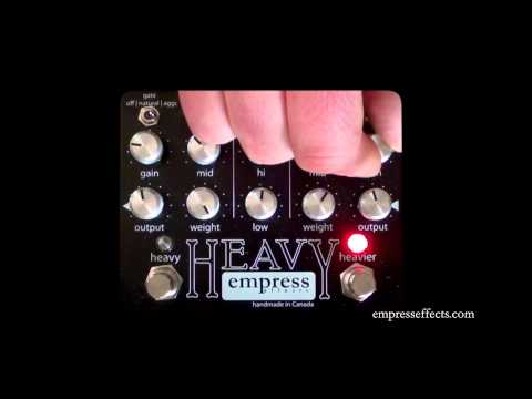 Empress Effects: HEAVY Distortion with Tape Delay - ESP Stef T7 & Carl Martin Custom 50 Combo