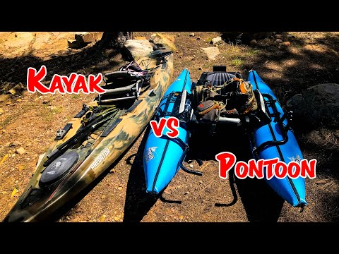Pontoon Boat VS Kayak! (Which One Is BETTER!)