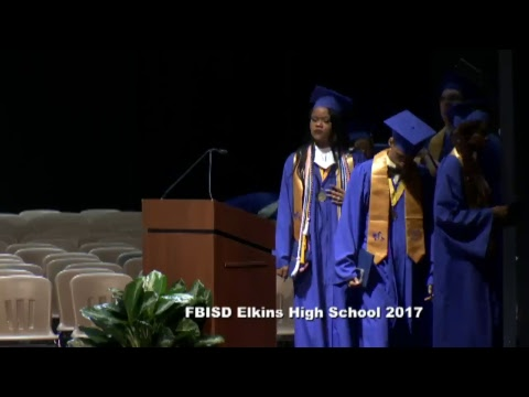 Fort Bend ISD Elkins High School Graduation 2017