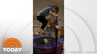 Watch Savannah Guthrie Announce 'Olympic' Feats By Kids Charley And Vale | TODAY
