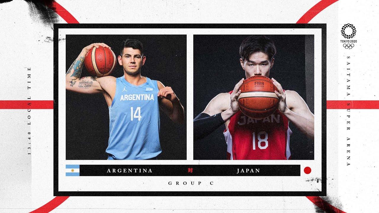 Argentina v Japan - Watch along party | #Tokyo2020 ⚡ #Basketball