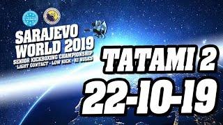 WAKO World Championships 2019 Tatami 2 22/10/19