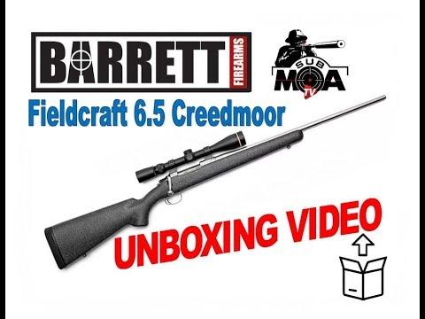 """Unboxing: Barrett Fieldcraft Light Hunting Rifle 18"""" Threaded Barrel 6.5 Creedmoor"""