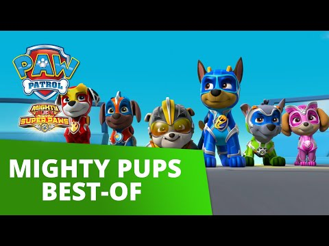 PAW Patrol   Mighty Pups Best Moments and Rescues   PAW Patrol Official & Friends
