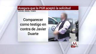 Yunes comparecerá en contra de Javier Duarte