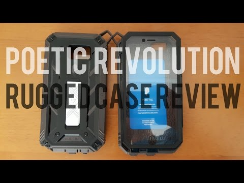 Poetic Revolution Rugged Cases for the Note 5 and iPhone 6 Plus