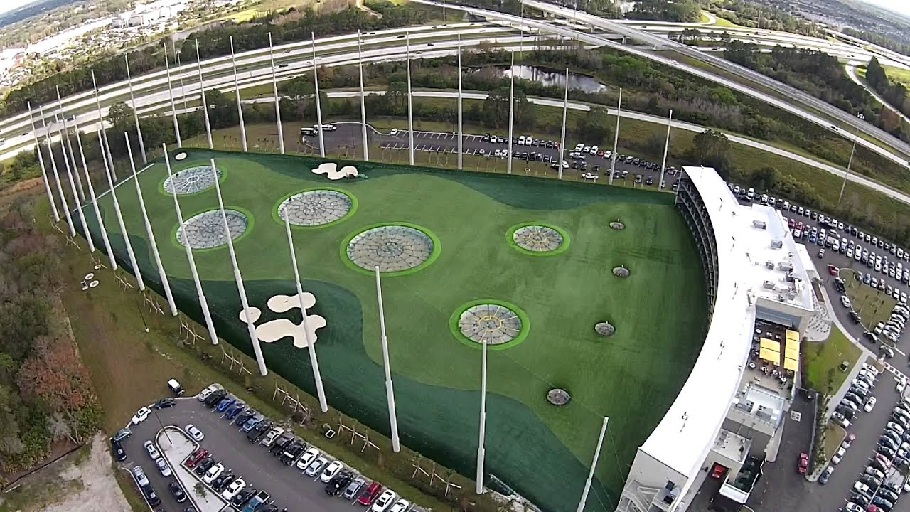 Top golf tampa fl from above dji phantom 2 vision plus for Top arredi floridia