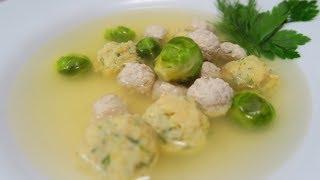 Всем Супам Суп!!! С фрикадельками Мясными и Сырными
