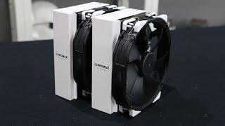 Noctua Chromax Fans and NH D15   NH U12 Cooler Mod Tops