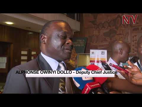 Parliament vets Deputy Chief Justice Alfonse Owiny Dollo