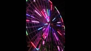 Wonderland, Ocean City, NJ Christmas night