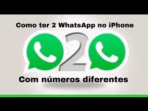 como baixar segundo whatsapp iphone