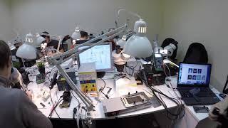 Большой учебный центр по ремонту телефонов и ноутбуков в Москве