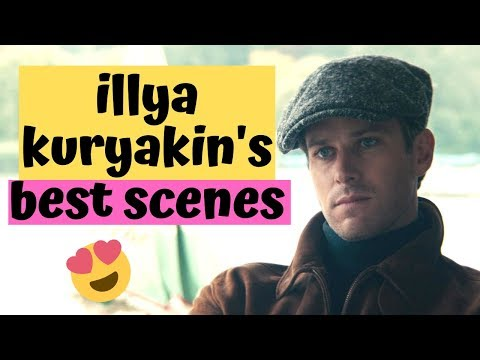 Illya Kuryakin's Best Scenes • The Man From Uncle