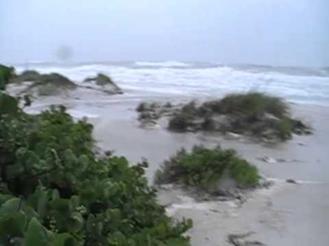 Tropical Storm Debby 2012 on Anna Maria Island