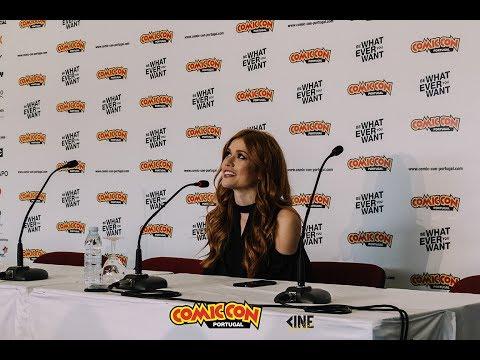 with Katherine McNamara at Comic Con Portugal!
