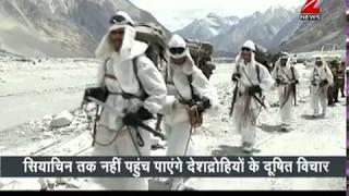Watch Indian Army at -50 degree temperature in Siachen | देखिये सियाचिन में सेना की देशभक्ति