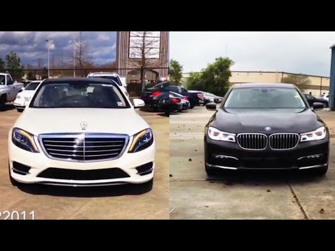 2016 BMW 7 Series Vs Mercedes-Benz S-Class | REVIEW & ULTIMATE COMPARISON