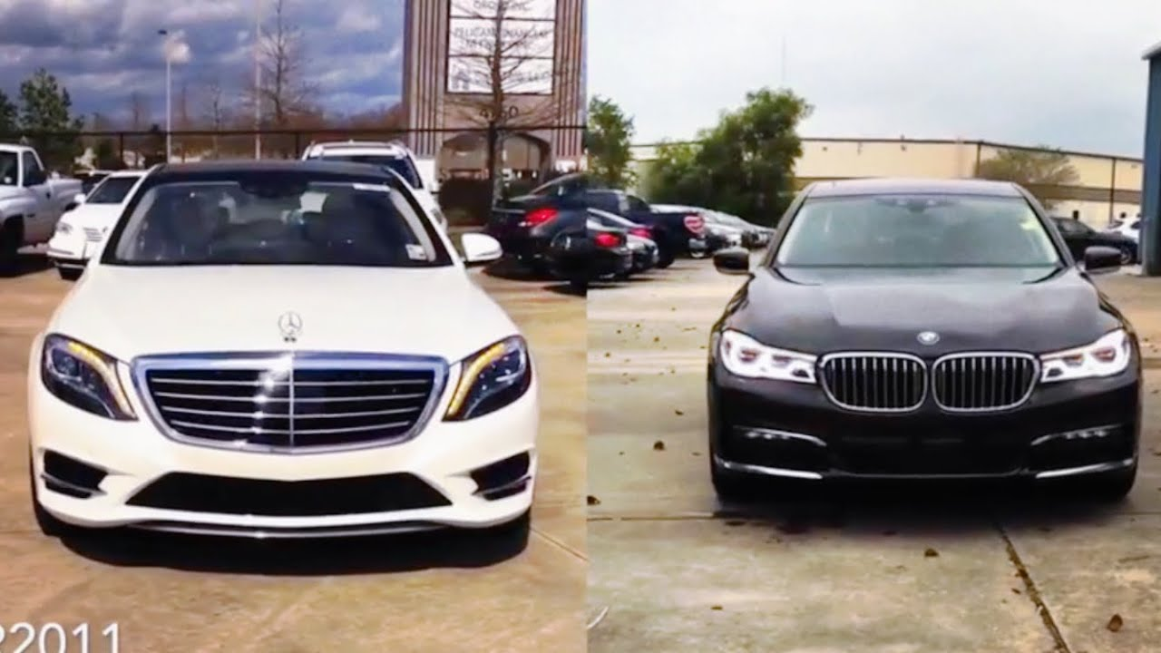 2016 bmw 7 series vs mercedes benz s class review for Mercedes benz s class vs bmw 7 series