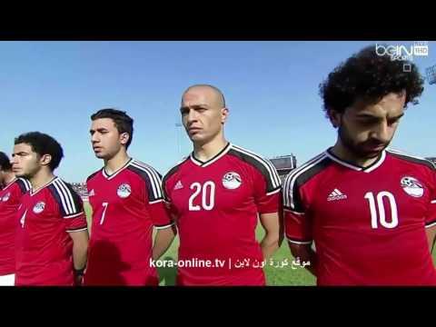 الفيديو الذي صممه الجهاز الفني للمنتخب لاشعال حماس اللاعبين قبل موقعة نيجريا ببرج العرب