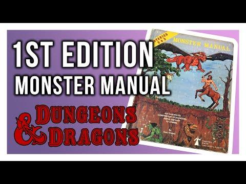 Retro Review: 1st Edition ADu0026D Monster Manual Review
