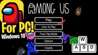 How To Download Among Us For Pc Free Windows 10 Youtube