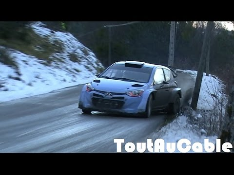Test Rallye Monte-Carlo 2016 - Dani SORDO / Hayden PADDON  By ToutAuCable [HD]