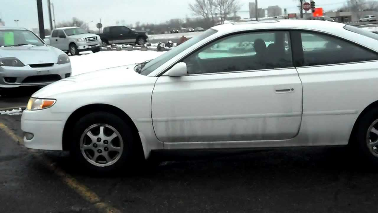 Awesome 2002 Toyota Camry Solara SE, 2 Door Coupe, 2.4 4cyl, LOADED, P Roof, FRESH  TRADE!!!   YouTube