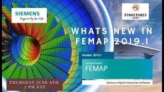 What's New in Femap 2019.1 Webinar