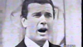 Franco Corelli in trasmissione RAI primi anni cinquanta con Paolo Ferrari