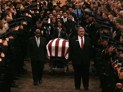 Slain Palm Springs Officers Mourned by Thousands