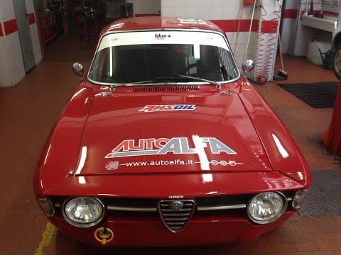 Alfa Romeo Giulia Gt 1600.Preparazione motore 1600 e test finale con additivi Blue.