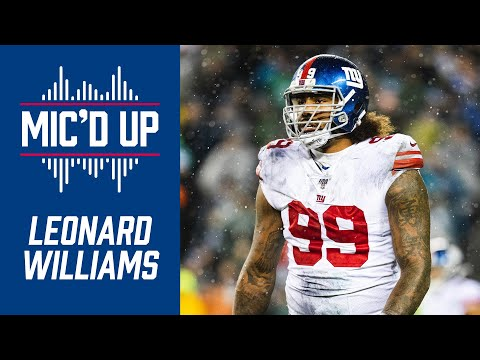 Leonard Williams Mic'd Up Giants Vs. Bears |