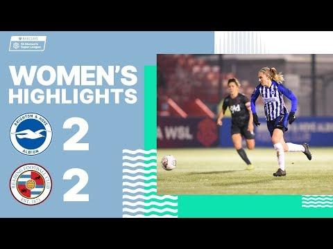 Brighton & Hove Albion Women 2 Reading 2