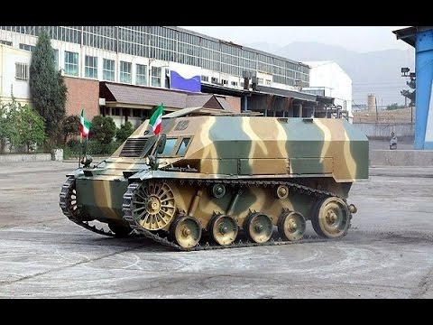 Iranian made Tanks and AFV's : 1980 to Present