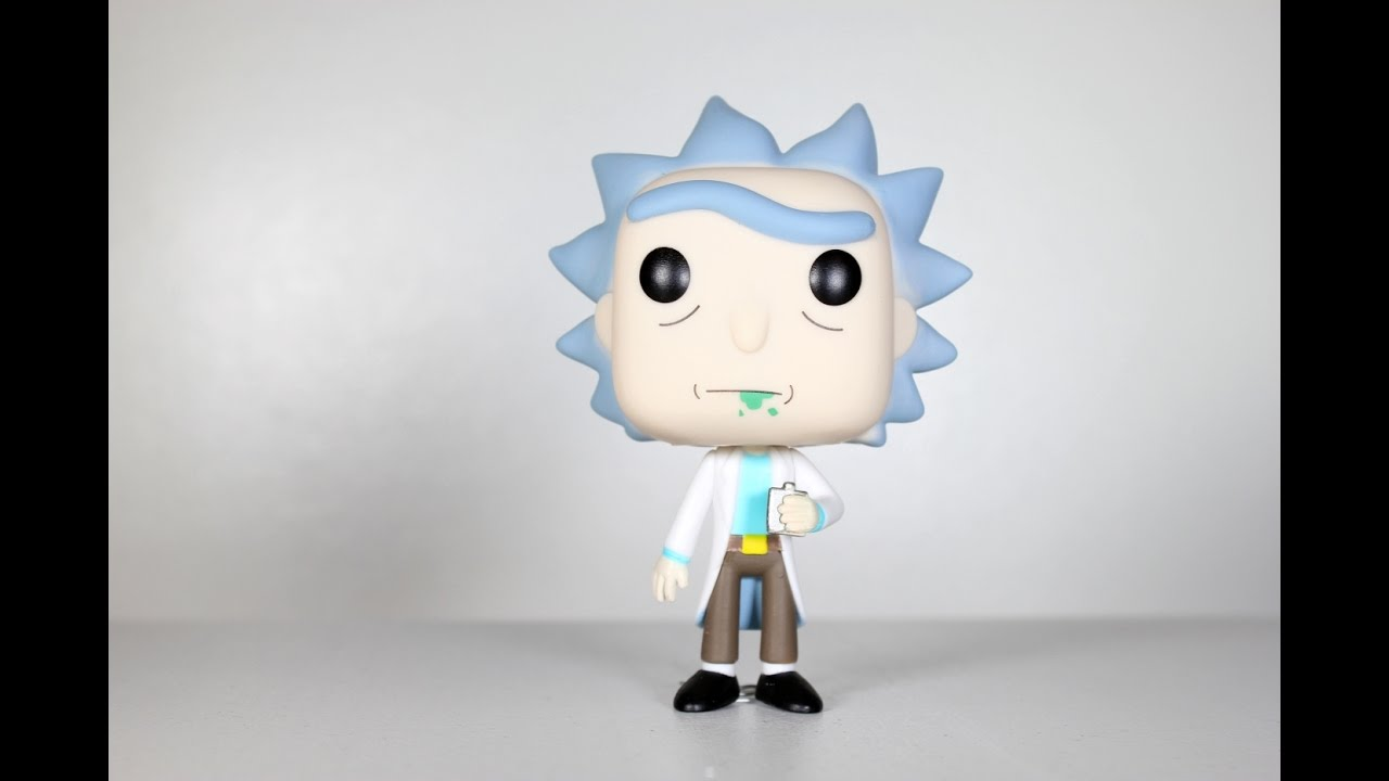Rick And Morty Rick Funko Pop Review Youtube