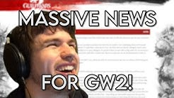 MASSIVE News For Guild Wars 2 In 2020!