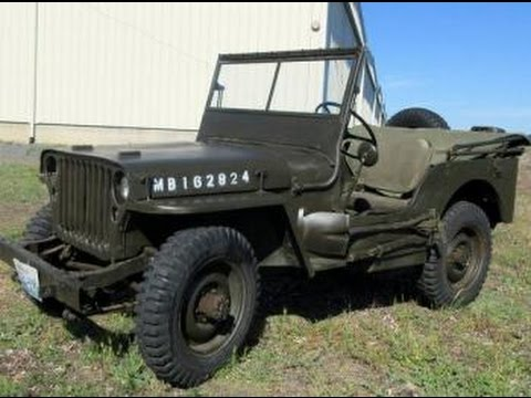 1942 Willys Military MB Jeep on GovLiquidation com