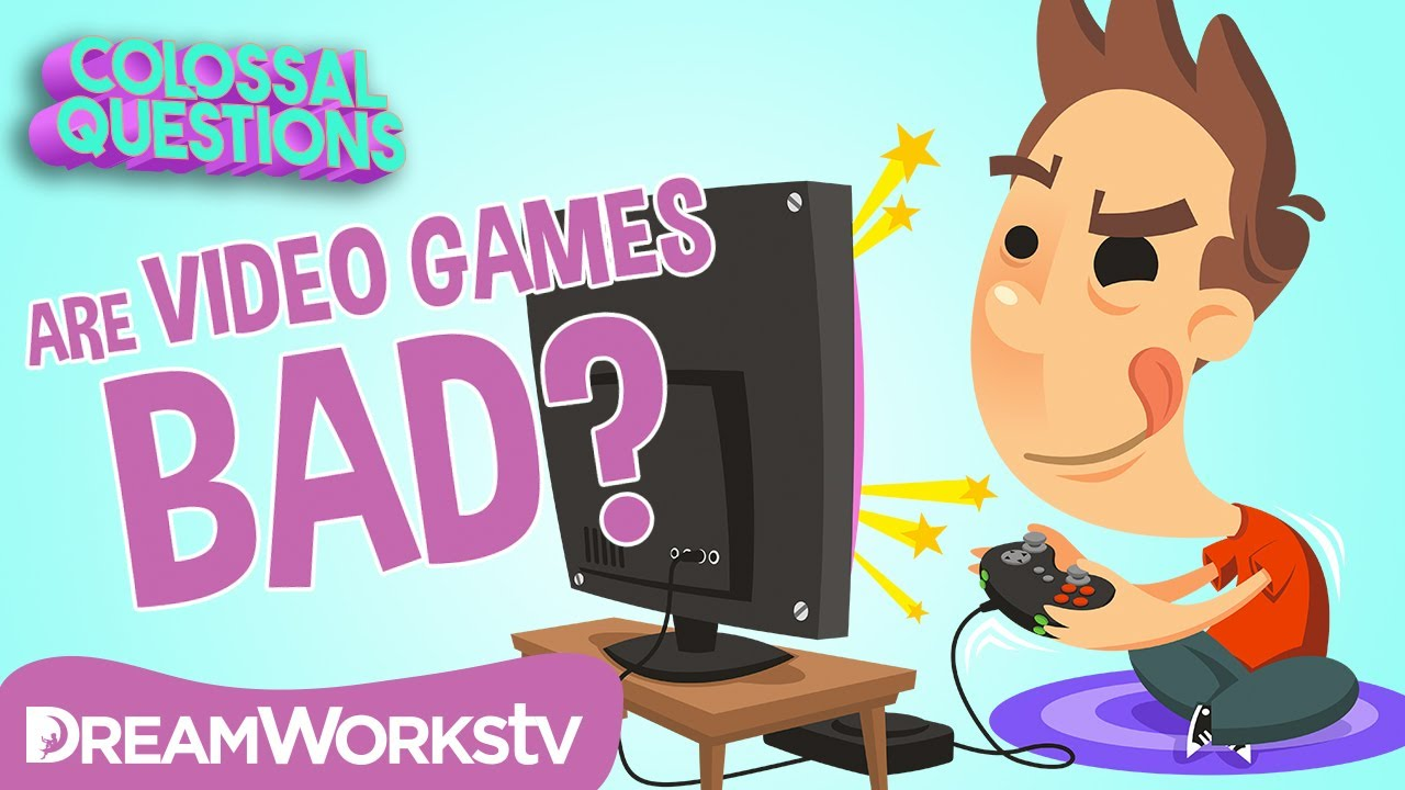 Are Video Games BAD For You? | COLOSSAL QUESTIONS - YouTube