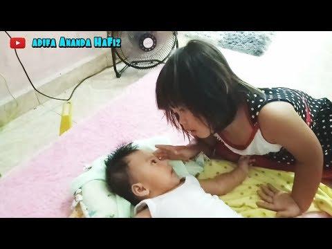Video Pertama Adifa Nonton Tayo Bareng Cicik Jihan Putri Alika | Adifa Ananda Hafiz