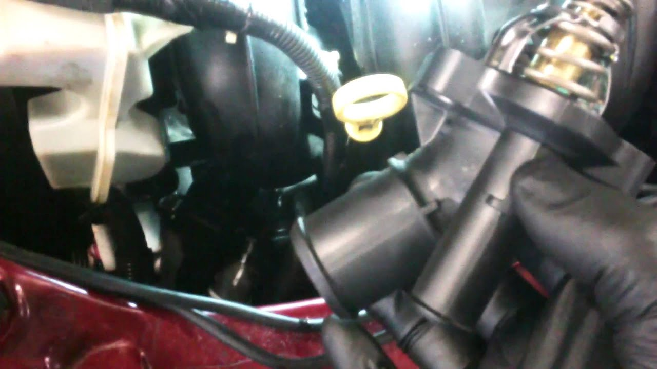2007 Ford Fusion Cooling System Thermostat Replacement 2005 2011 Focus 20l Assembly Install Remove Replace