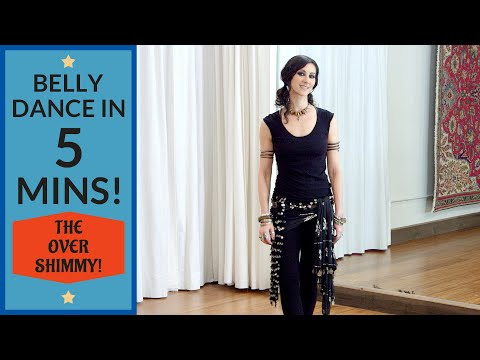 The Overshimmy: Belly Dance Tutorial With Rachel Brice